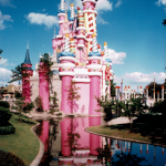 Photo of the Day: Cinderella's Castle Across Waterway from Liberty Square – Walt Disney World – Flor...