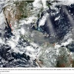 Saharan Dust Plume on the Way Into the U.S.