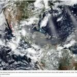 Saharan Dust Plume on the Way Into the U.S.