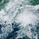 Update on Again Tropical Storm Elsa – Passing Over the Florida-Georgia Line
