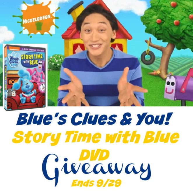 Blue's Clues & You! Story Time with Blue DVD Giveaway.jpg