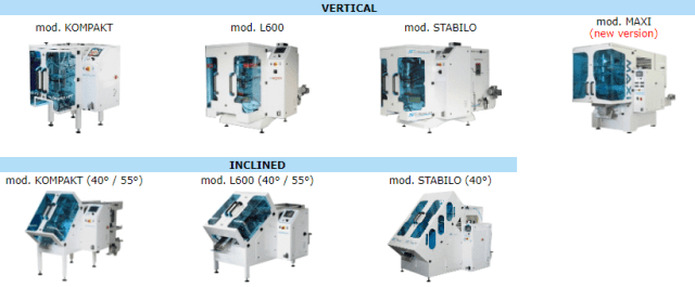 Packaging Machines Vertical and Inclined