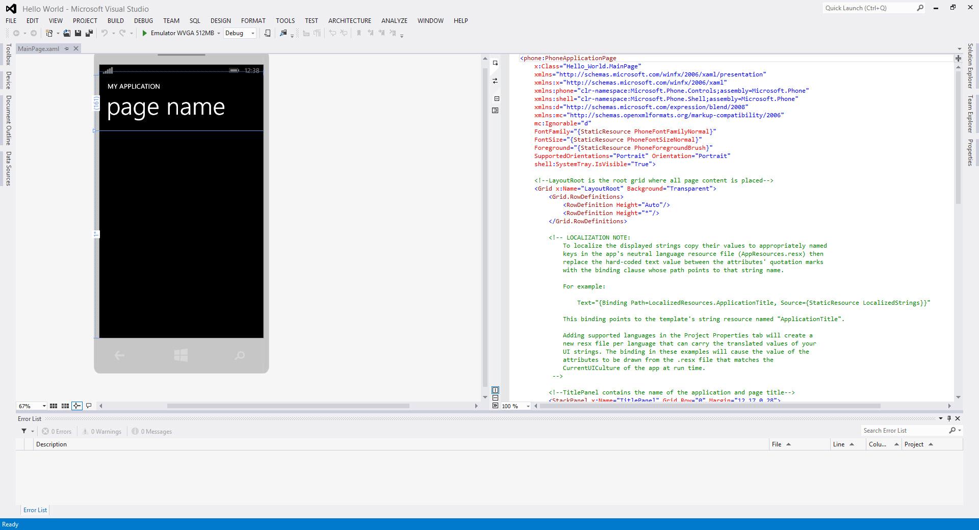 Visual Studio Code Templates  solidity contracts in visual studio