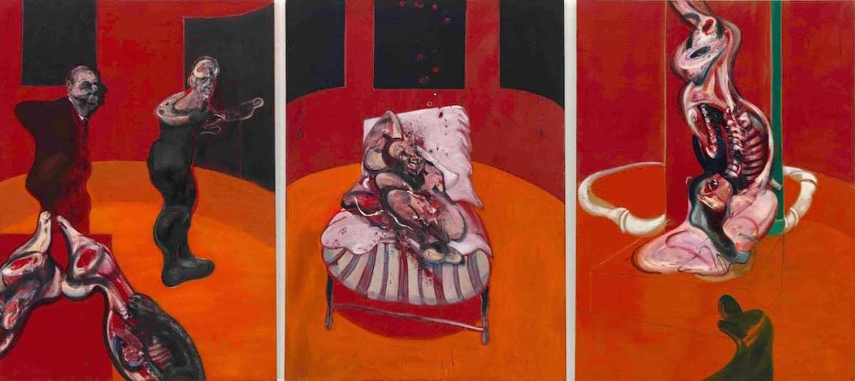 Francis Bacon - 72 Three Sudies for a Crucifixion 1962