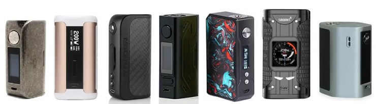 Best Box Mod Vape 2019 Best Box Mods & Vape Mods 2019   Superb Single & Dual Battery Mods