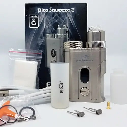 What's In the Box Pico Squeeze 2