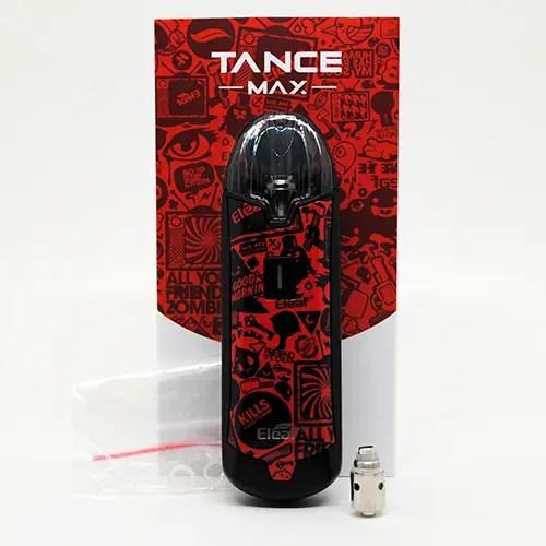 Eleaf Tance Max Box Contents