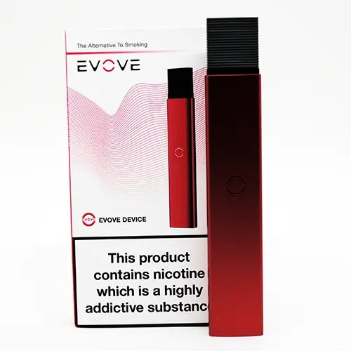 Evove Pod Box Contents