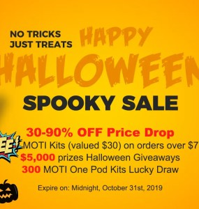 EightVape Halloween Sale