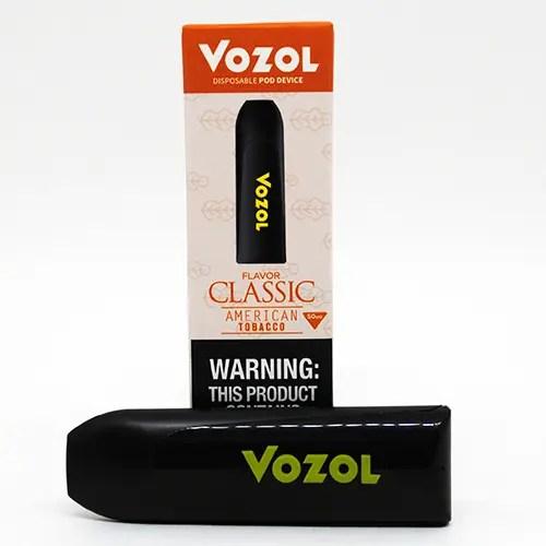 Vozol Disposable American Tobacco