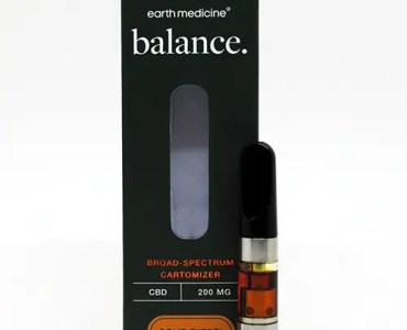 Earth Medicine CBC Vape Cartridge Review
