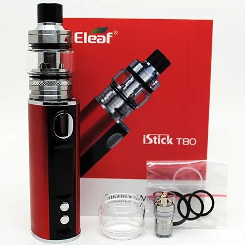 Eleaf iStick T80 Box Contents