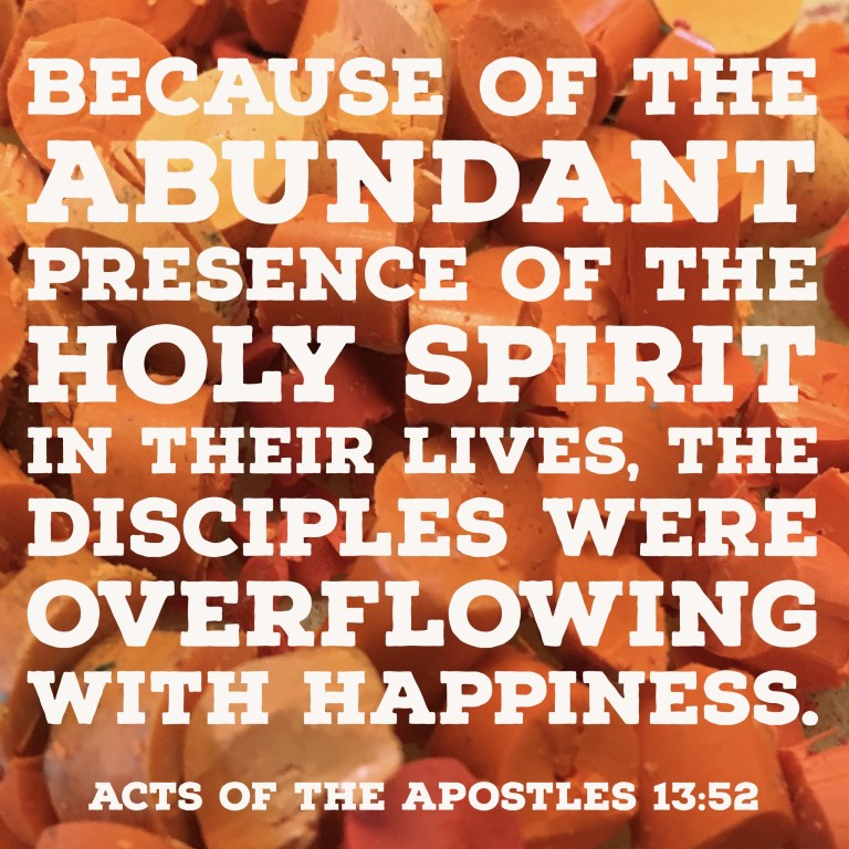 Verse Image for Acts of the Apostles 13:52 - 1x1