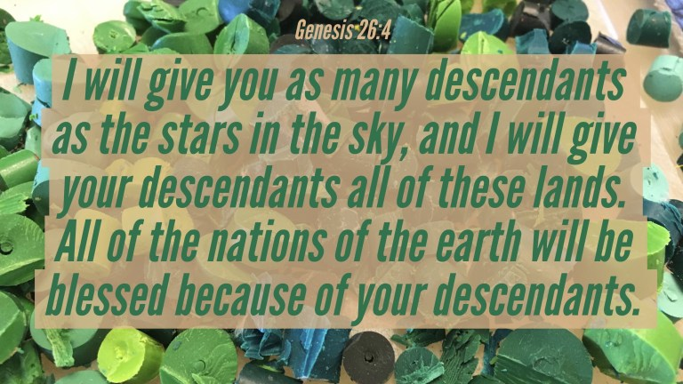 Verse Image for Genesis 26:4 - 16x9