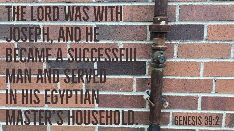 Verse Image for Genesis 39:2 - 16x9