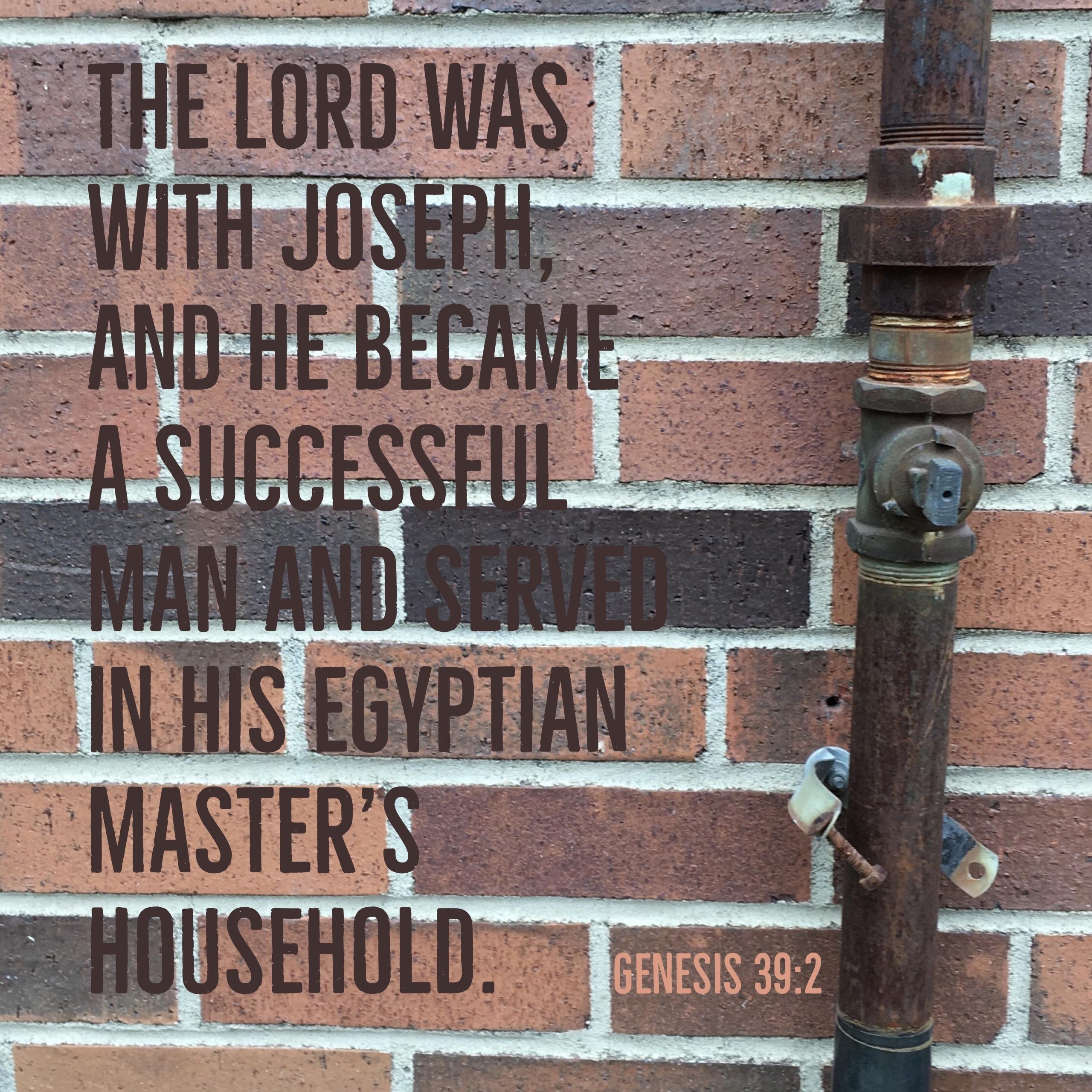 Verse Image for Genesis 39:2 - 1x1