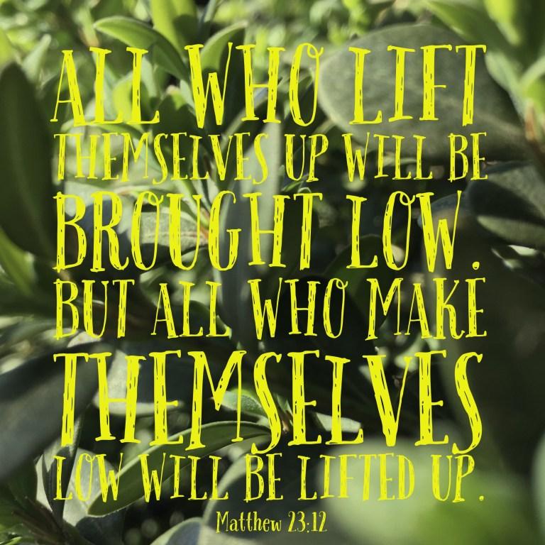 Verse Image for Matthew 23:12 - 1x1