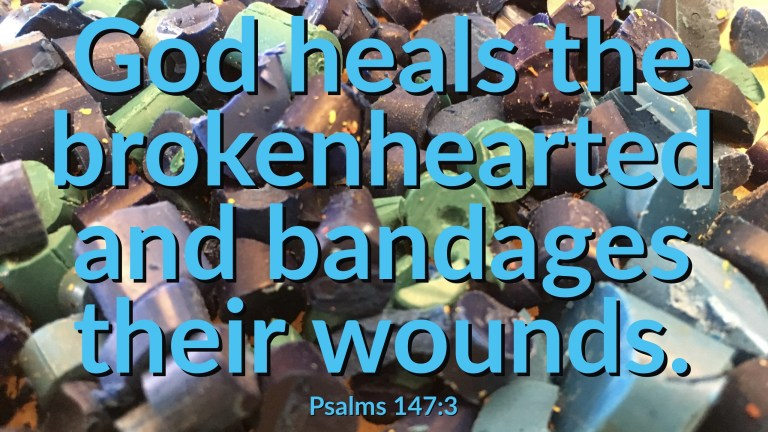 Verse Image for Psalms 147:3 - 16x9