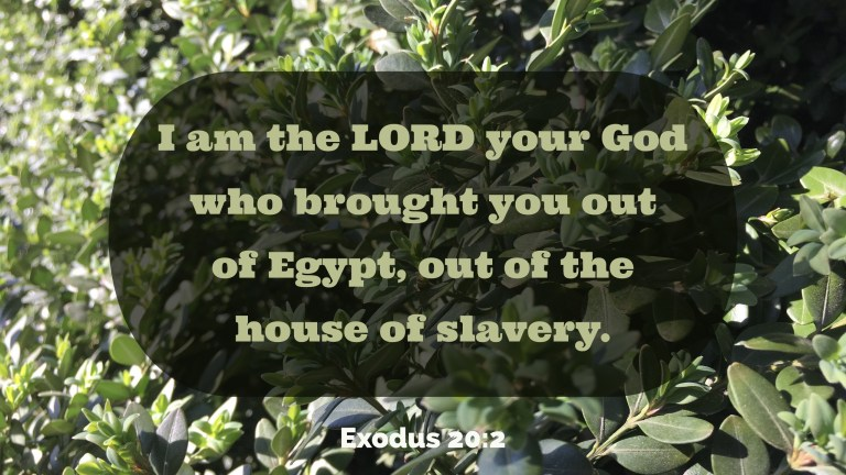 Verse Image for Exodus 20:2 - 16x9