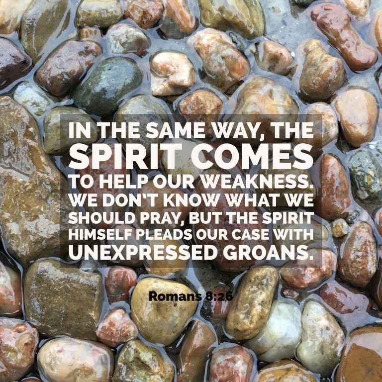 Verse Image for Romans 8:26 - 1x1