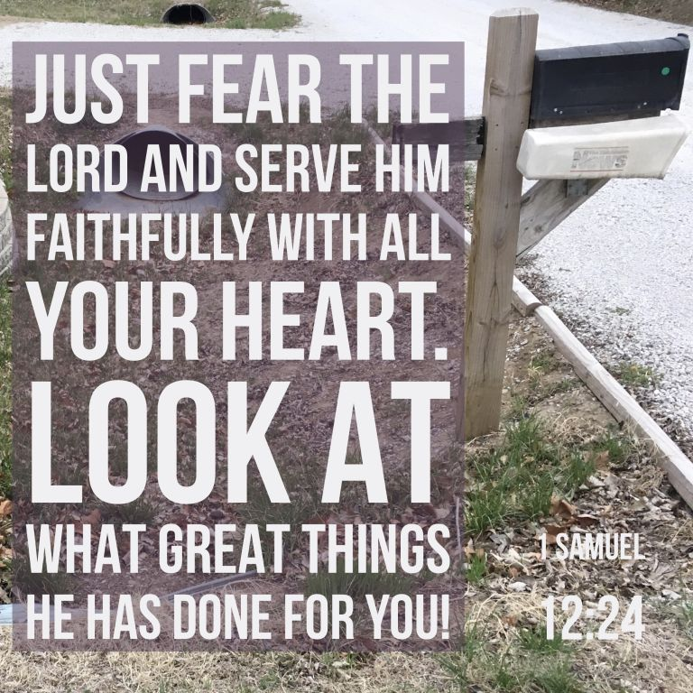Verse Image for 1 Samuel 12:24 - 1x1