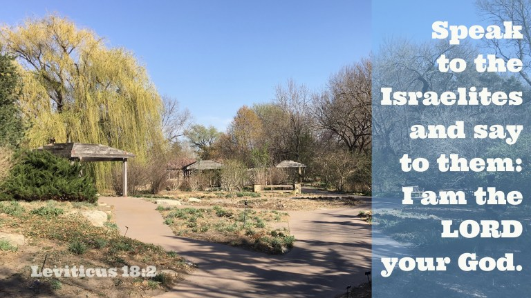 Verse Image for Leviticus 18:2 - 16x9