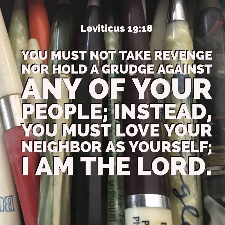 Verse Image for Leviticus 19:18 - 1x1