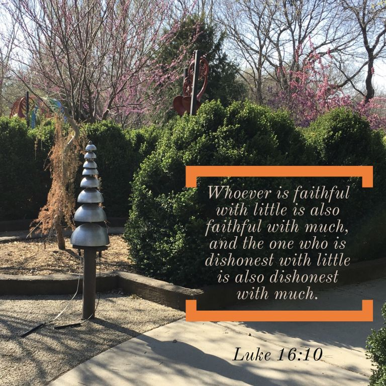 Verse Image for Luke 16:10 - 1x1