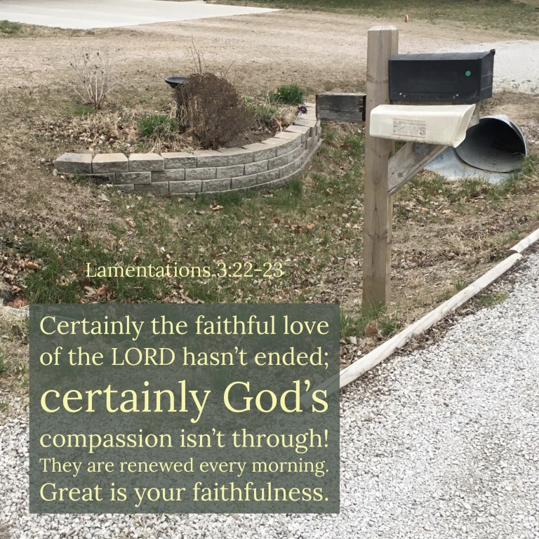 Verse Image for Lamentations 3:22-23 - 1x1