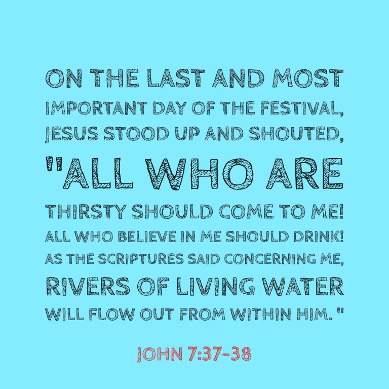 Verse Image for John 7:37-38 - 1x1