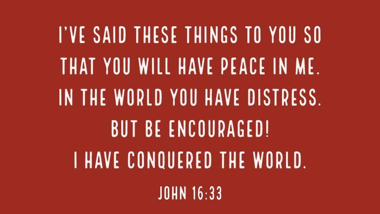 Verse Image for John 16:33 - 16x9