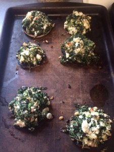 These stuffed mushrooms tasted great - they had all the right ingredients!