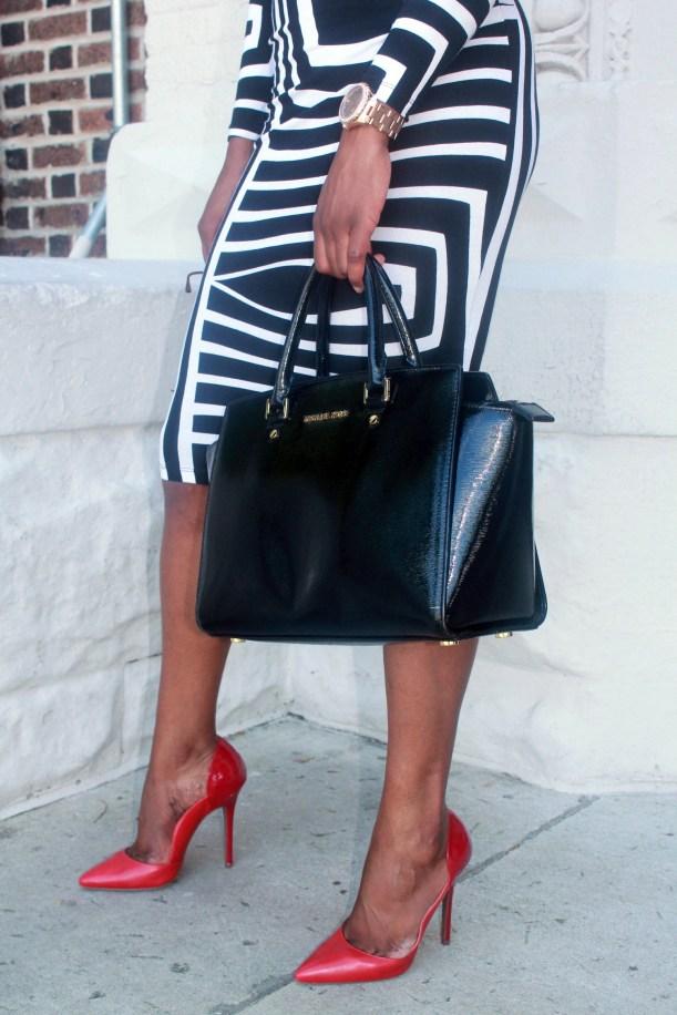 Asos black and white backless midi dress (12)