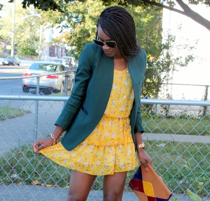 Summer dress + fall colors (10)