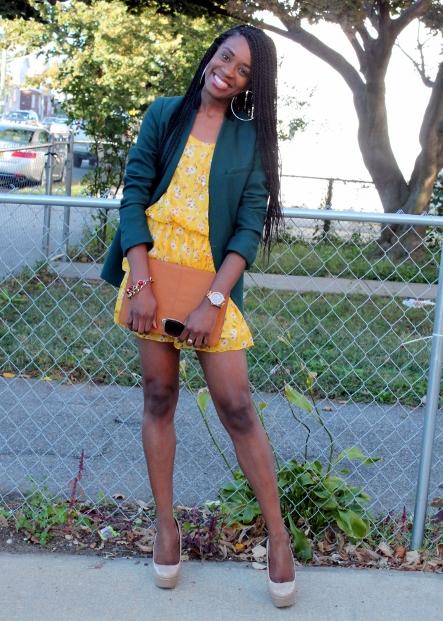 Summer dress + fall colors (4)