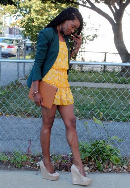 Summer dress + fall colors (6)