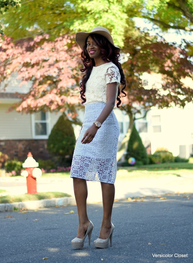 Lace skirt & lace top (9)