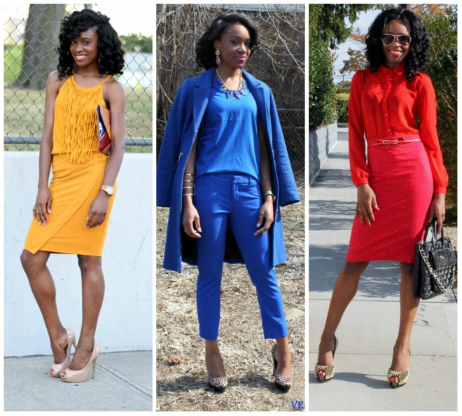 Dressing in primary colors