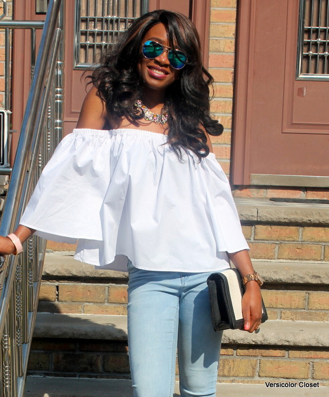 How to wear an off the shoulder top this summer (26)