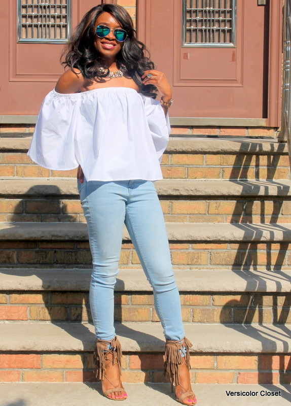 How to wear an off the shoulder top this summer (5)
