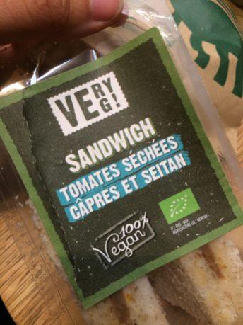 sandwich very veg