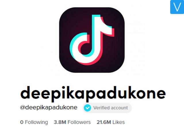 Deepika Padukone joins TikTok