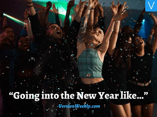 New year party captions for instagram