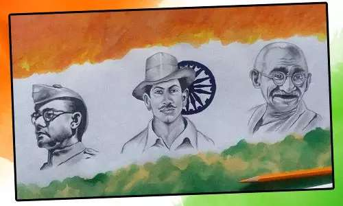 how to draw republic day 2020 images