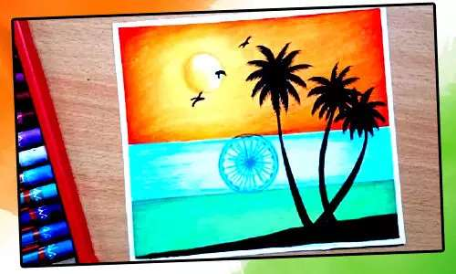 republic day painting