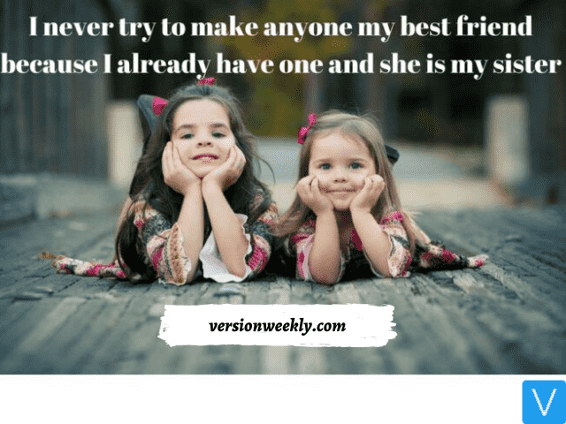 Funny Sister Instagram Quotes