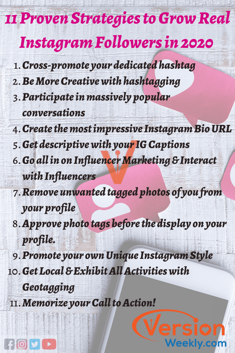 Proven startegies to get more insta followers & likes