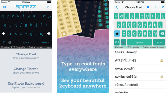 Sprezz instagram font generator tool