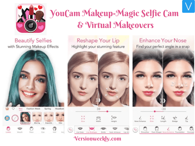 Youcam makeup app for android