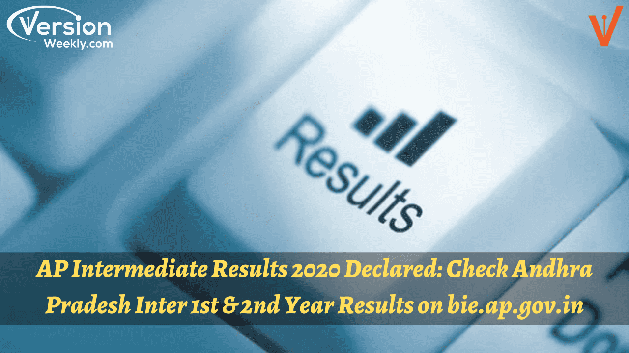 AP Inter Results 2020 Released